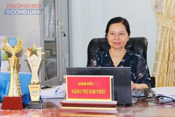 Bà Đặng Thị Kim Phúc, Tổng giám đốc Công ty Cổ phần thực phẩm Điện Biên