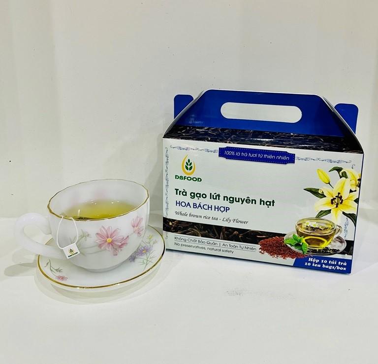 Từng bước đưa trà gạo lứt trở thành sản phẩm OCOP