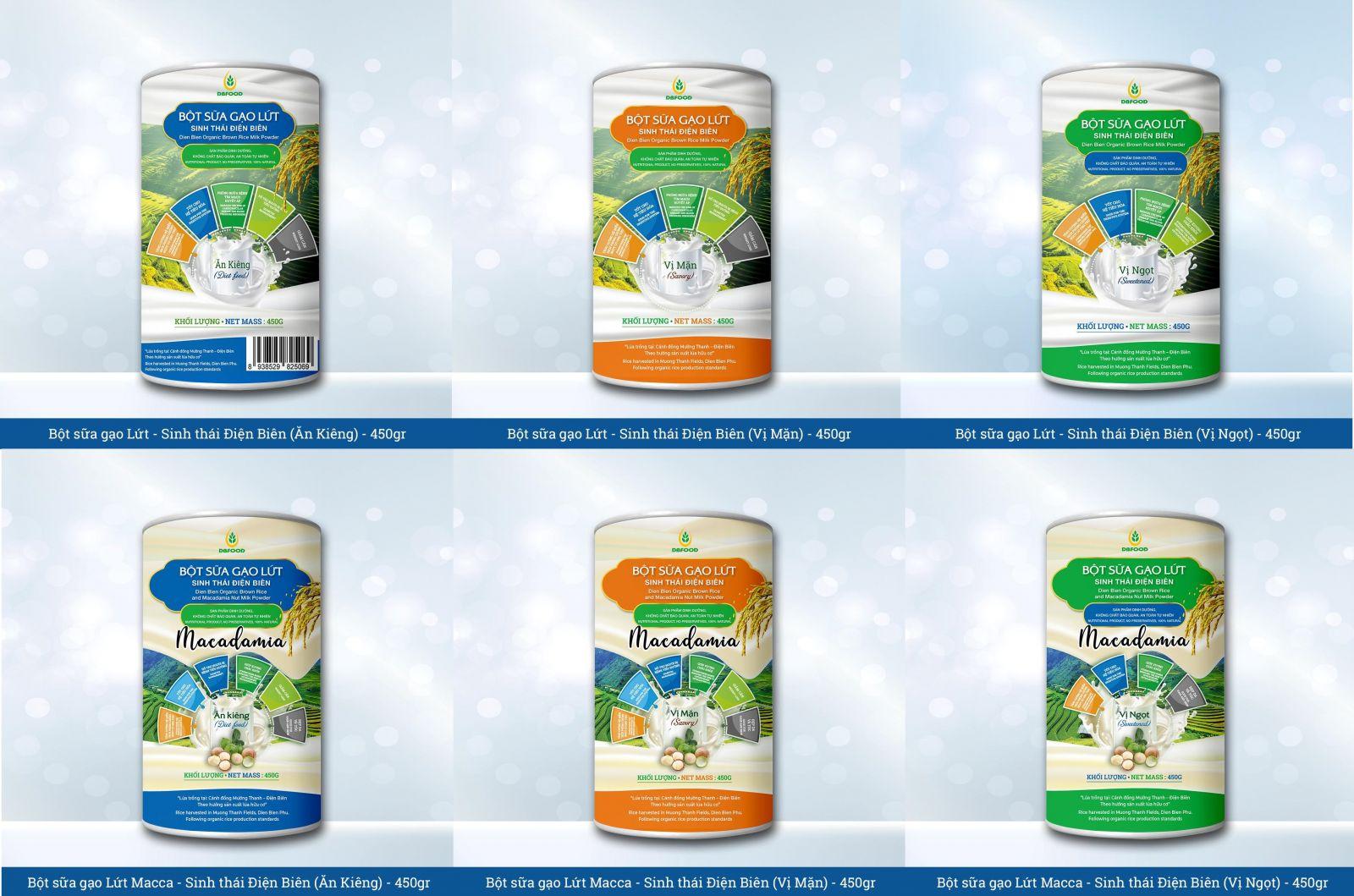 DBFOOD - Tự hào thương hiệu nông sản Việt chất lượng cao
